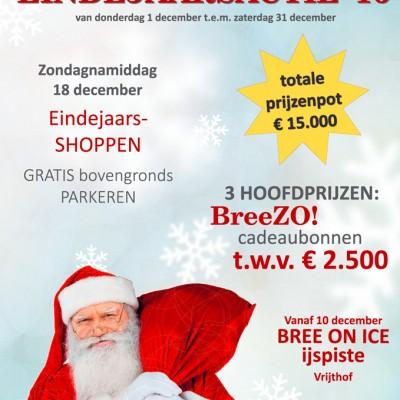 BreeZO! eindejaarsactie vanaf 1 december