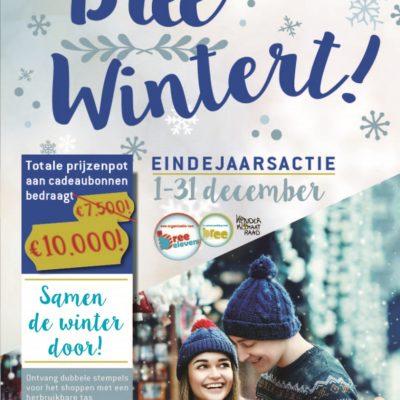 Bree Wintert met 10.000 euro aan cadeaubonnen